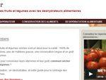 Toute l'information sur les déshydrateurs alimentaires