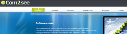 agence creation site referencement