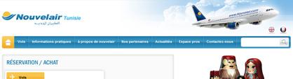 billet d'avion pas cher Tunisie