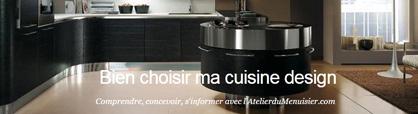 choix d'une cuisine design