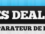 Les-deals.com est un comparateur de deals présentant tous les sites d'achat groupé francophones.