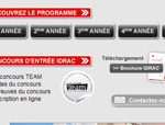 Site dédié au Programme International Grande Ecole, IDRAC Lyon
