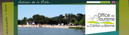office du tourisme au canton de Brionne