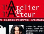 Formation au métier d'acteur accessible à tous les niveaux avec l'atelier de l'acteur