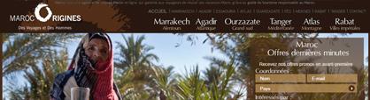 site de réservation en ligne de voyage au Maroc