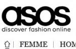 Asos est un e-shop de vêtements et d'accessoires.