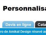 Personalisez vos textiles avec vos logos sur le site de Amikal Design