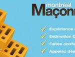 Service de maçonnerie et de briquetage par Maçonnerie Montréal