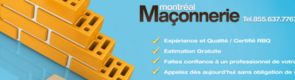 maconnerie montreal