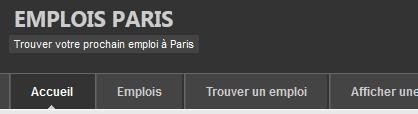 offres d'emploi à Paris