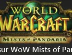 Site d'informations sur World of Warcraft Mist of Pandaria
