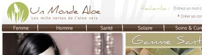 produit naturel aloe vera