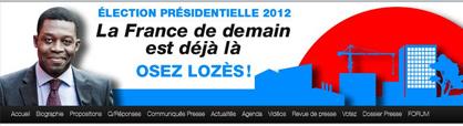 Candidature Patrick Lozès