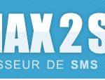 1max2sms permet l'expédition de sms totalement gratuits