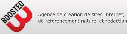 Boosteo, création et référencement de site web