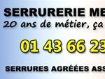 Spécialiste du dépannage serrurier à Paris depuis 20 ans, la serrurerie Meunier vous accompagne dans tous vos projets de sécurisation de votre domicile
