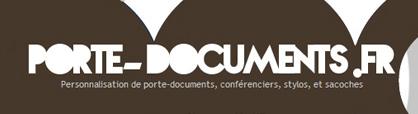 Porte document personnalisé