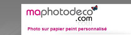 Papier-peint photo personnalisé