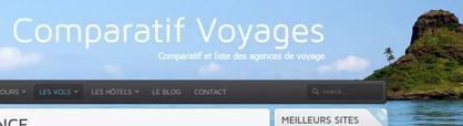 Comparatif Voyages