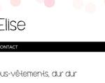 Découvrez le blog mode d'Elise, plein de conseils, de bons plans sur la mode !