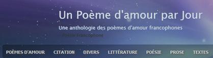 Poèmes d'amour d'auteurs