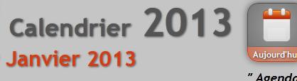 calendrier en ligne