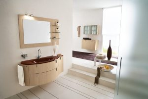 Salle de bain moderne par Vivien Vidal