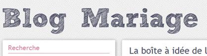 Blog du Mariage