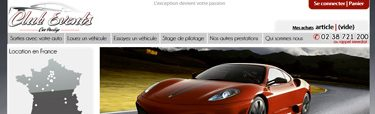 location de véhicules de luxes