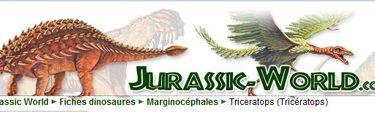 Site pour dinosaures